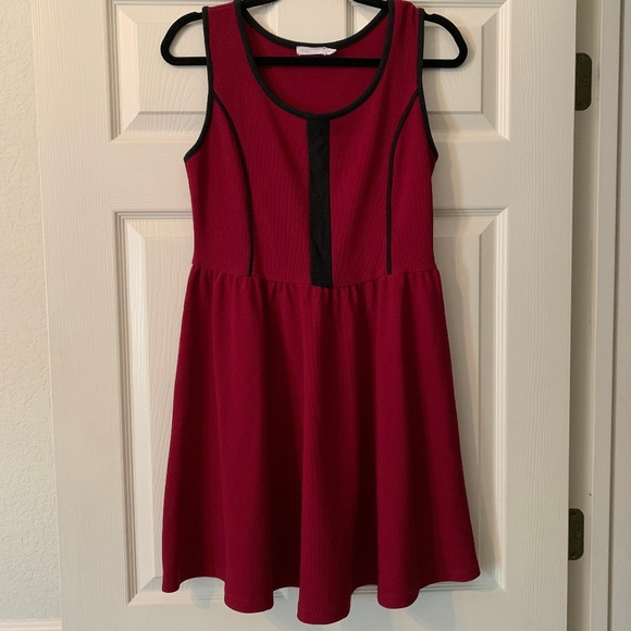 Lush Dresses & Skirts - Lush Maroon Dress